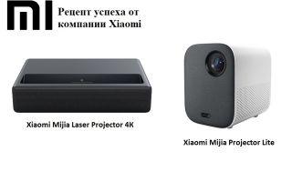 Проекторы xiaomi — лазерные, портативные и карманные: обзор и характеристики