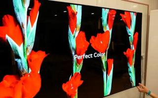 OLED телевизоры: виды дисплеев, их плюсы и срок службы