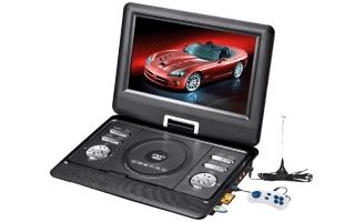 Портативный dvd плеер с tv тюнером — характеристики и описание