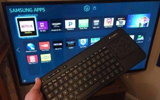 Клавиатура для смарт ТВ Самсунг — особенности подключения