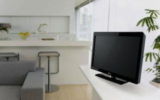Какой телевизор выбрать на кухню и где его установить?