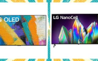 Телевизоры lg 2021 модельного года — популярные модели