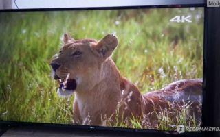 Телевизор lg 55uk6100 — описание и характеристика