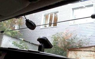 Автомобильная ТВ антенна — настройка и установка