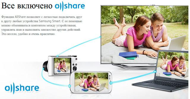 Samsung allshare - настройка на телевизоре для новичков