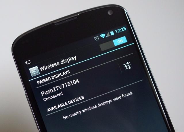 Трансляция видео с Android телефона или планшета на телевизор