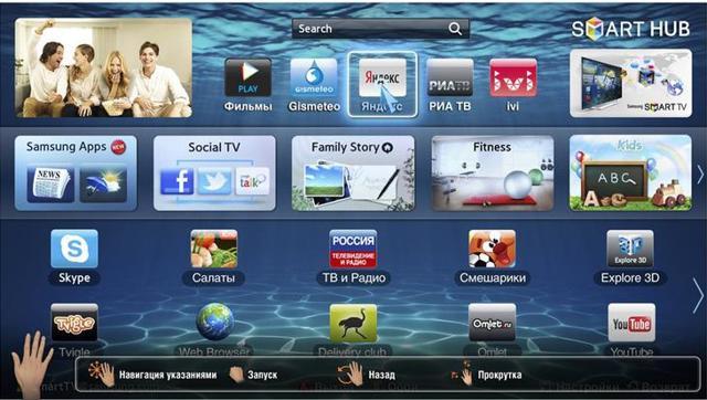 Приложения для просмотра телевидения на smart TV LG