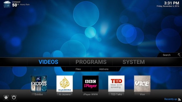 Настройка raspberry pi xbmc media center на русском языке