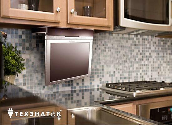 Какой телевизор выбрать на кухню: тип экрана, размер и функции