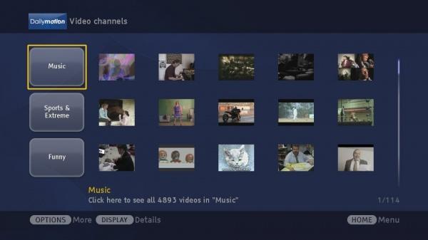 Sony Smart TV - приложения и как установить их