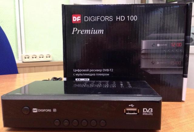 Внешний цифровой эфирный тюнер dvb t2 для телевизора