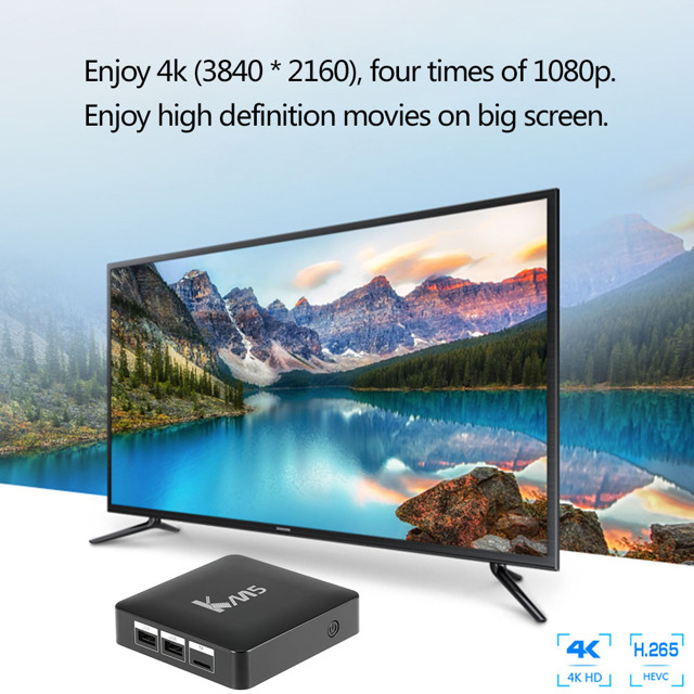 Invin km5 – отличная Смарт ТВ приставка по доступной цене