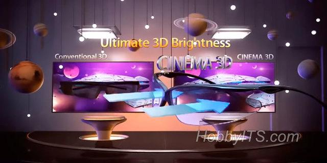 Как работает 3d телевизор без 3d очков