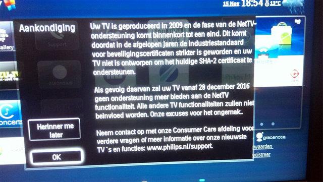 Обновление для телевизора Philips Смарт ТВ