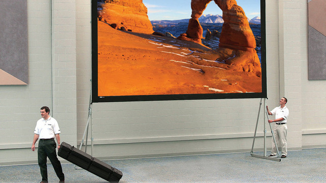Экран для проектора 120 дюймов - как выбрать самому