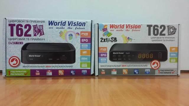 tv тюнер world vision t62a - описание и отзывы владельцев