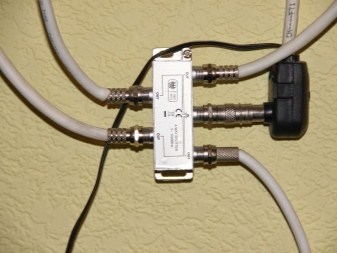 Разветвитель для ТВ антенны - способы соединения