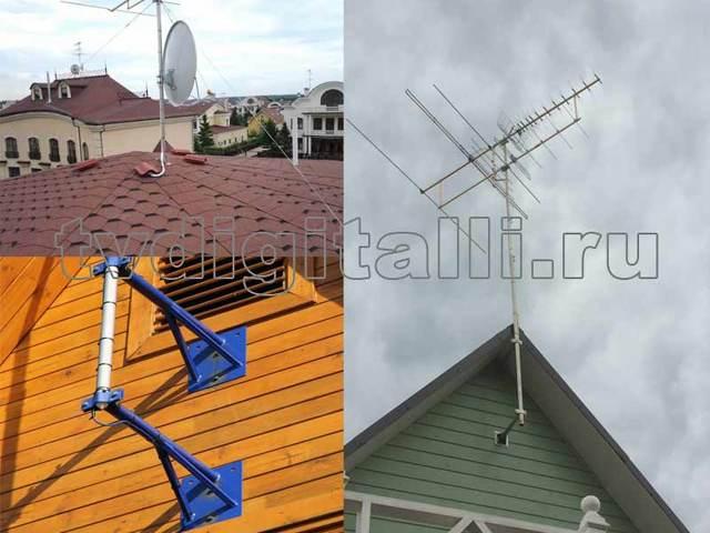 Как провести антенну для телевизора - инструкция