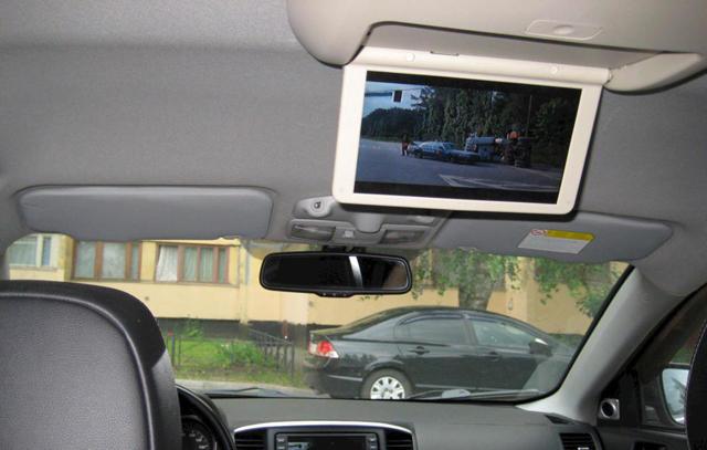 Как подключить жк телевизор в автомобиле своими руками