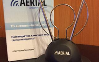 Комнатная цифровая ТВ антенна aerial 2100 - характеристики