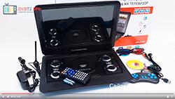 Портативный dvd плеер с tv тюнером - характеристики и описание