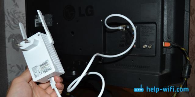 Как настроить телевизор без антенны - использование wi-fi