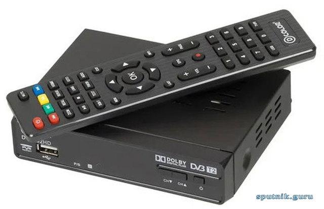 Ресивер dvb t2 d color dc1302hd - описание и характеристики