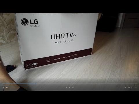 Телевизор lg 43uj639v - технические характеристики