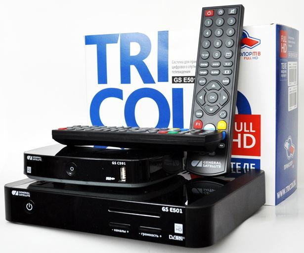 Установка и настройка Триколор ТВ - что входит в комплект и подключение тарелки и ресивера