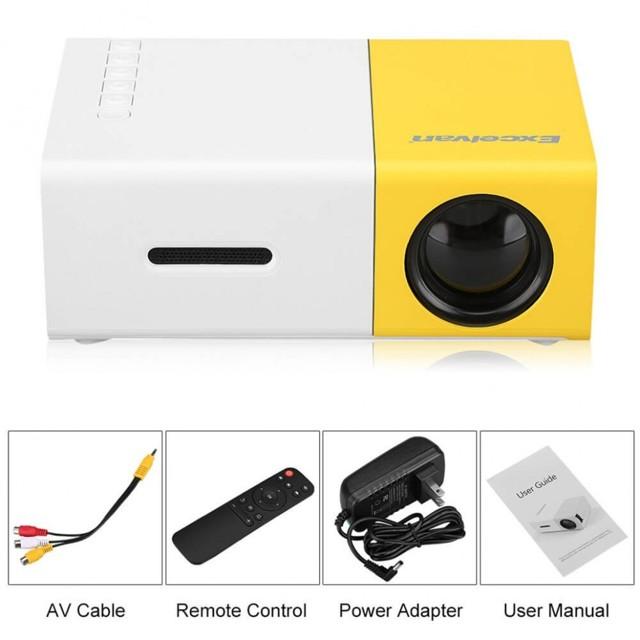 Мини проектор yg 300 - описание, характеристики и отзывы