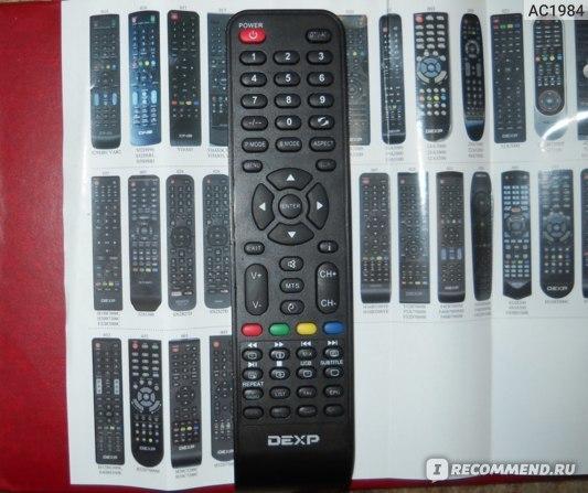 Пульт для телевизора dexp - как пользоваться и настройка