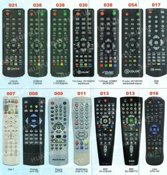 Как настроить ниверсальный пульт для телевизора (коды)